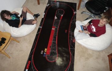 Pre-teens love racing with Anki Drive