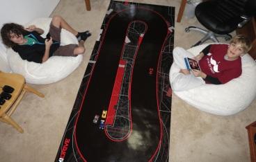 Pre-teens love racing with Anki Drive