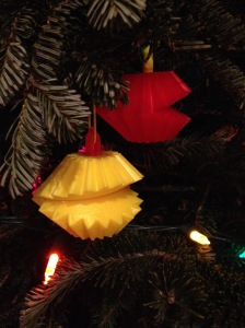 Make Ornaments from Failed 3D prints